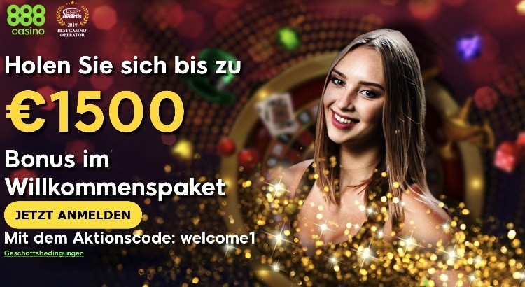 888 casino Bonus für Neukunden