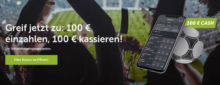 ComeOn Sportwetten Neukundenbonus