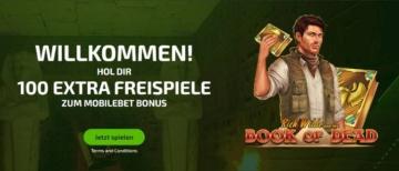 MobileBet Casino Bonus für Neukunden
