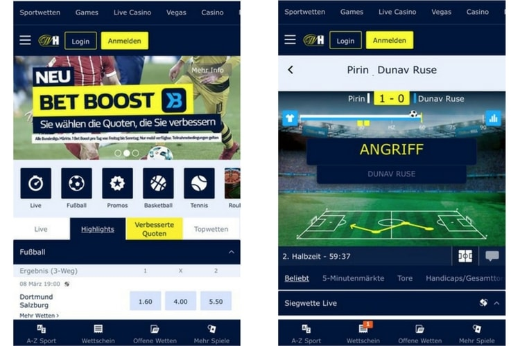 William Hill Sport App