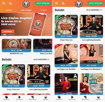 LeoVegas Casino App