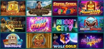 22Bet Casino Spieleauswahl