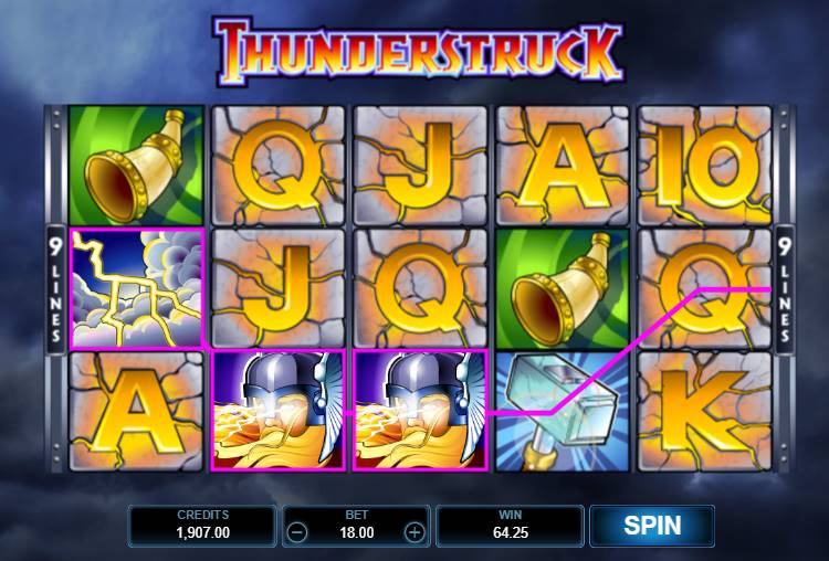 Seriöser Thunderstruck Slot