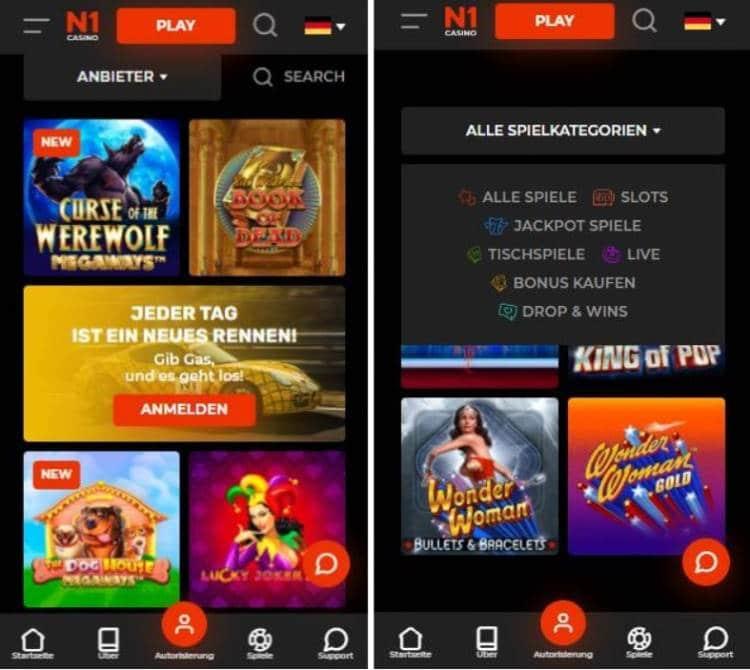 N1 Casino App