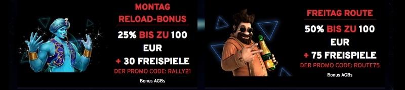 n1 Casino Bestandskunden Bonus