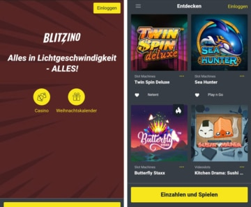 Blitzino Casino App