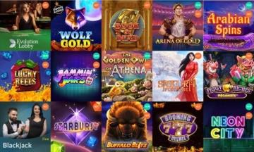 Spinia Casino Spieleangebot