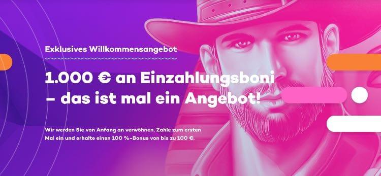 21.com Neukundenbonus