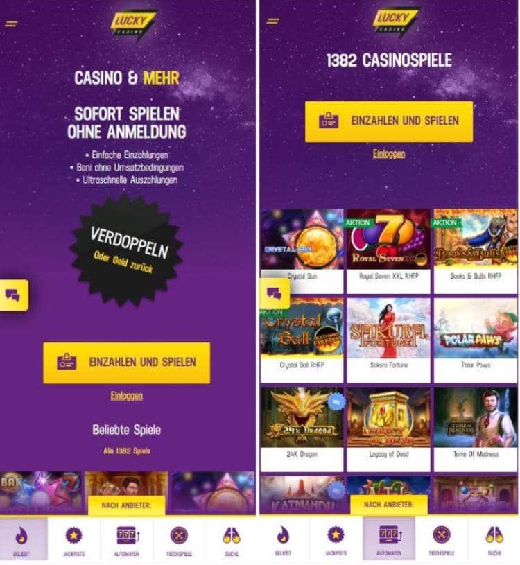 LuckyCasino App