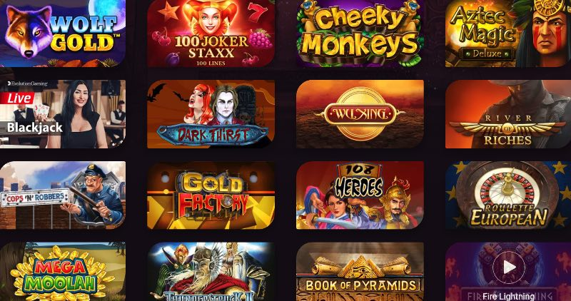 casinonic_spieleangebot