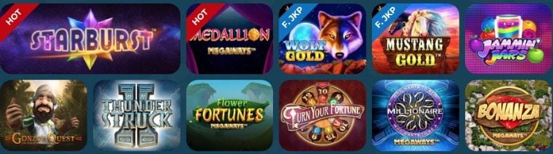 Das MyChance Spieleangebot mit NetEnt, Betsoft, Quickspin und vielen weiteren Herstellern