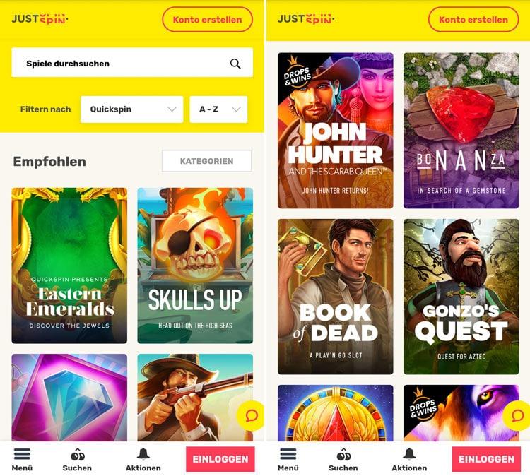 justspin-casino-app