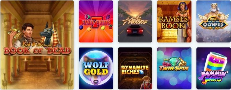 Das Angebot an Casinospielen im Lucky Casino ist riesig
