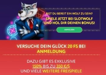 Slotwolf Casino Bonus