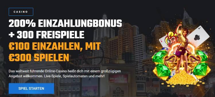Unikrn Casino Bonus für Neukunden