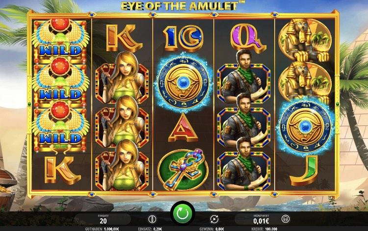 Eye of the Amulet ist ein seriöser Slot von iSoftBet