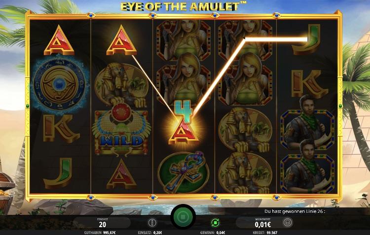 Eye of the Amulet Slot