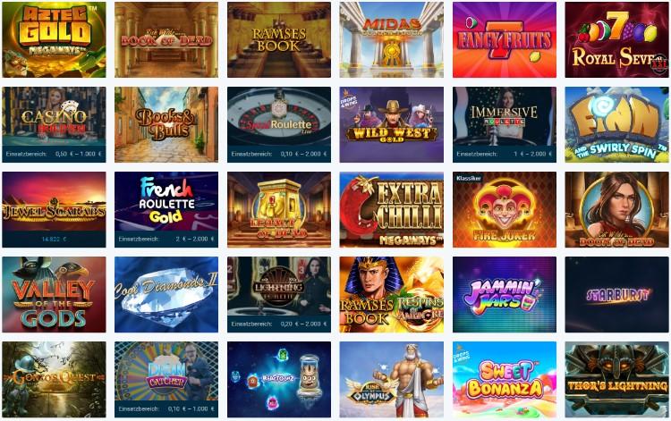 mybet Casino Spiele