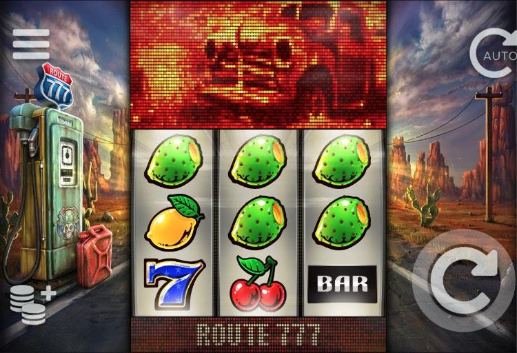 Route 777 Slot Gewinnlinien