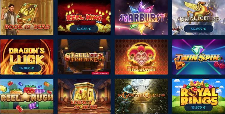 Casino Planet Spiele