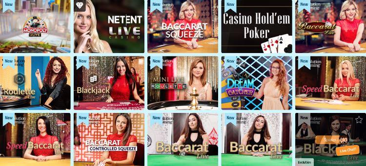 Crazeplay Casino Live Casino