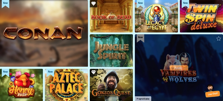 Crazeplay Casino Spiele