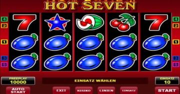 Hot Seven Slot Online spielen