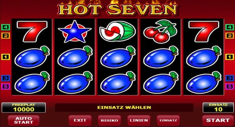 Hot Seven Slot: Betrug oder seriös?