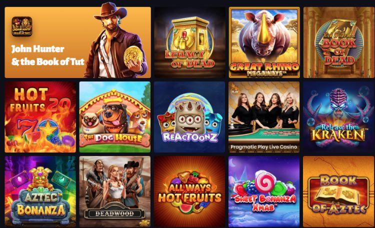 SlotHunter Casinospiele