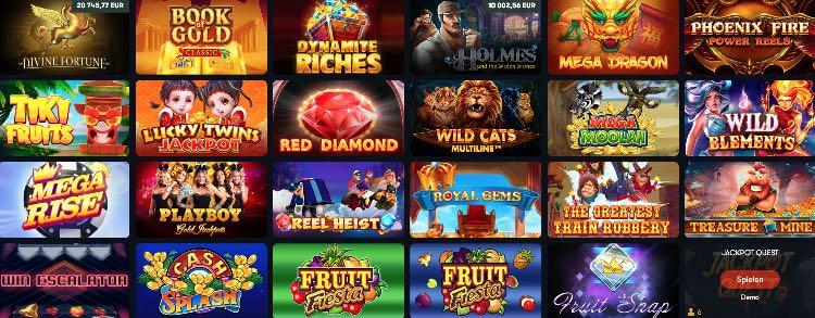 Frank Casino Jackpot Spiele