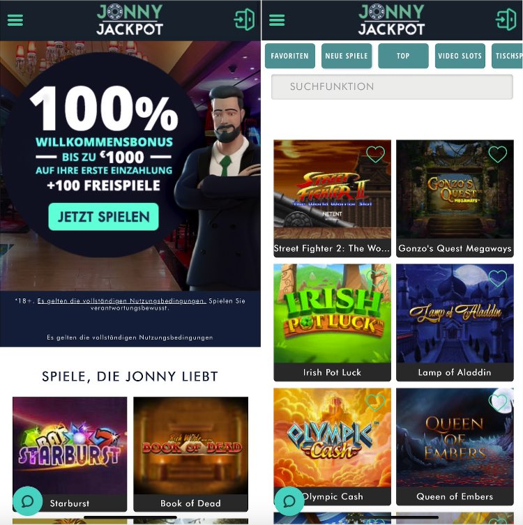 Jonny Jackpot Casino App