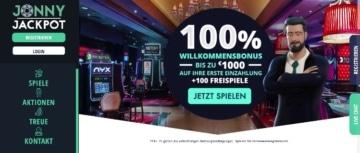 Jonny Jackpot Casino Erfahrungen: Willkommensbonus