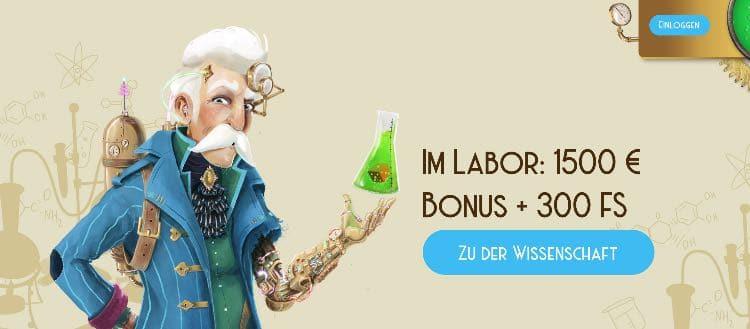 Casino Lab Casino Willkommensbonus