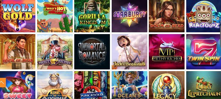 Das Angebot an Slots im Playigo Casino