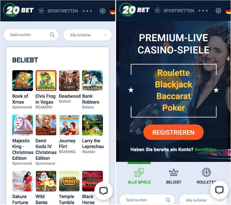 20Bet Casino App