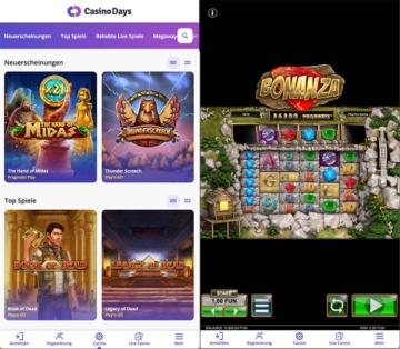 Casino Days Mobile Spielen