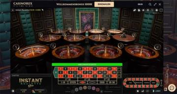 Roulette im Live Casino von CasinoRex