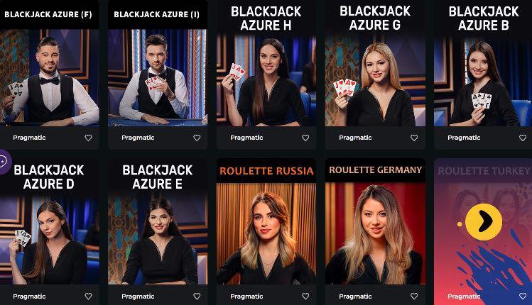 Boomergang Casino Live Casino