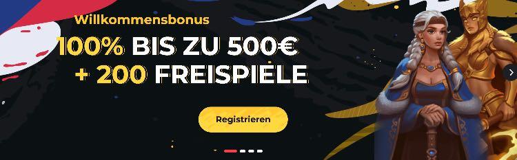 Boomerang Casino Willkommensbonus
