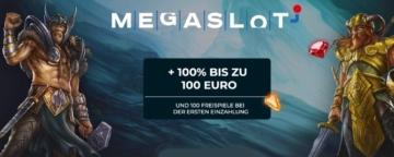 Megaslot Casino Willkommenbonus