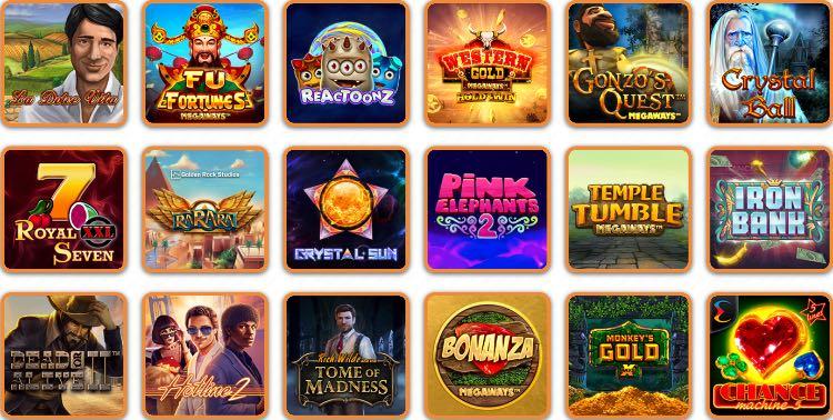 CashiMashi Casino Spieleangebot