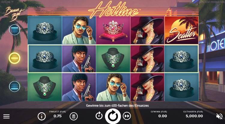 Hotline Slot sicher spielen