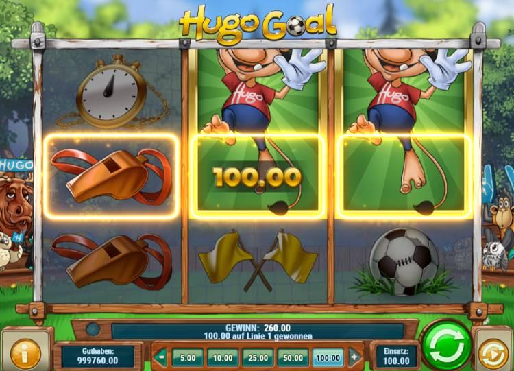 Hugo Goal Slot kein Betrug
