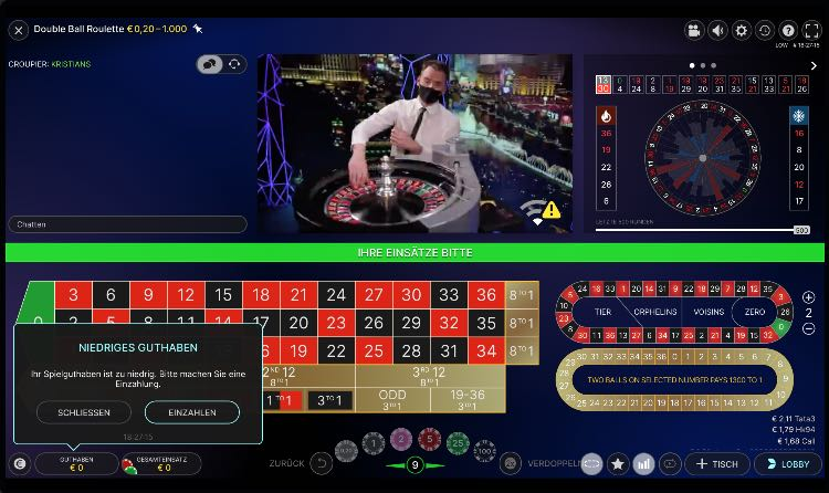 National Live Casino Roulette