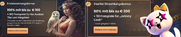 National Casino Willkommensbonus