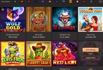 National Casino Spieleangebot