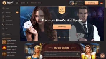 National Casino Webseite