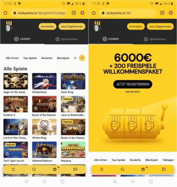 Lucky Wins App