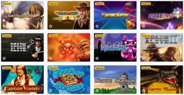 Lucky Wins Casino Spiele