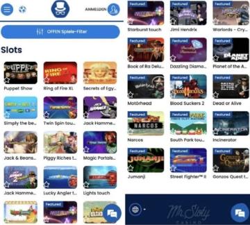 Mr Sloty Casino App